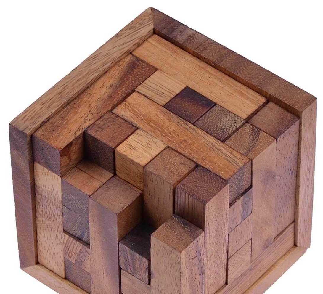 Holz Knobelspiel