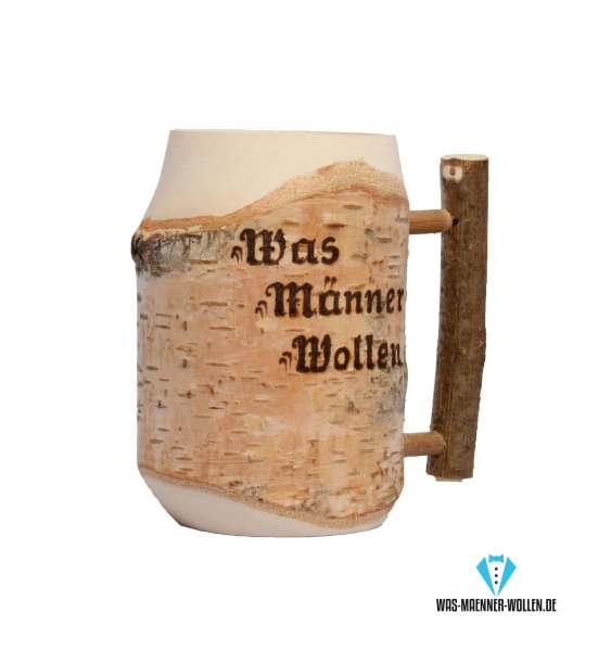 Hölzerner Bierkrug 2 personalisierte geschenke für väter papa opa