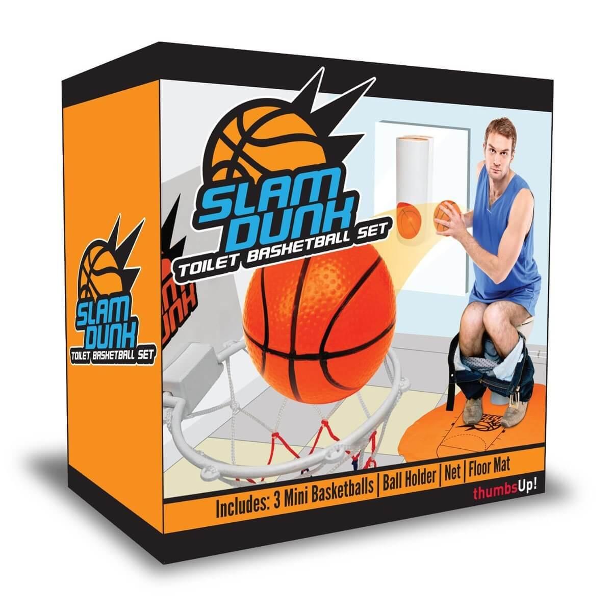 Klo Basketball - Geschenkidee für Männer