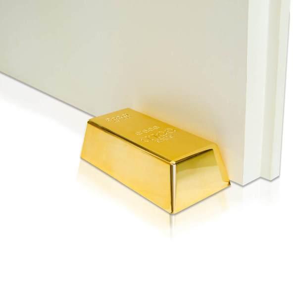 Goldbarren Türstopper 2 Geschenke für männer kaufen