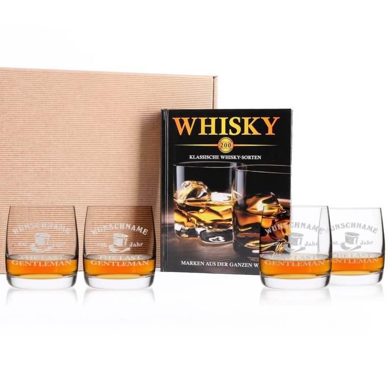 Whisky-Wissen Set - personalisiertes Männergeschenk