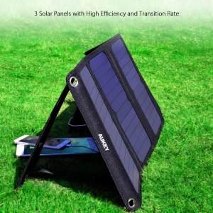 Solar Ladegerät - Geschenk für den Freund