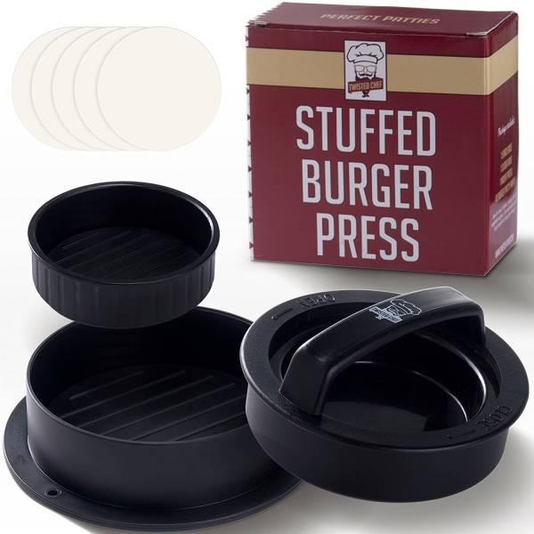 Gefüllte Burger Presse - Patties selber machen