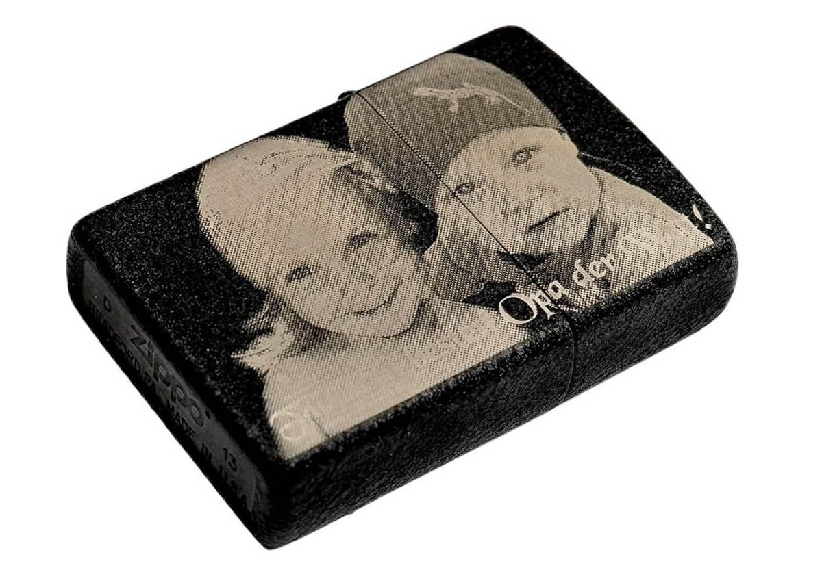 Personalisiertes Zippo - Geschenke für Familie