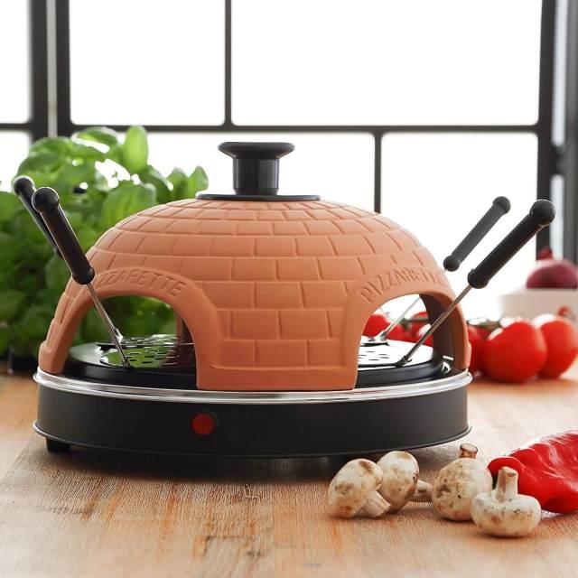 Mini Pizzaofen Italienisches Ambiente 1