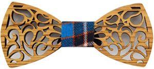 Holzfliege - Fliege aus Holz für Männer - edles Geschenk für den Mann