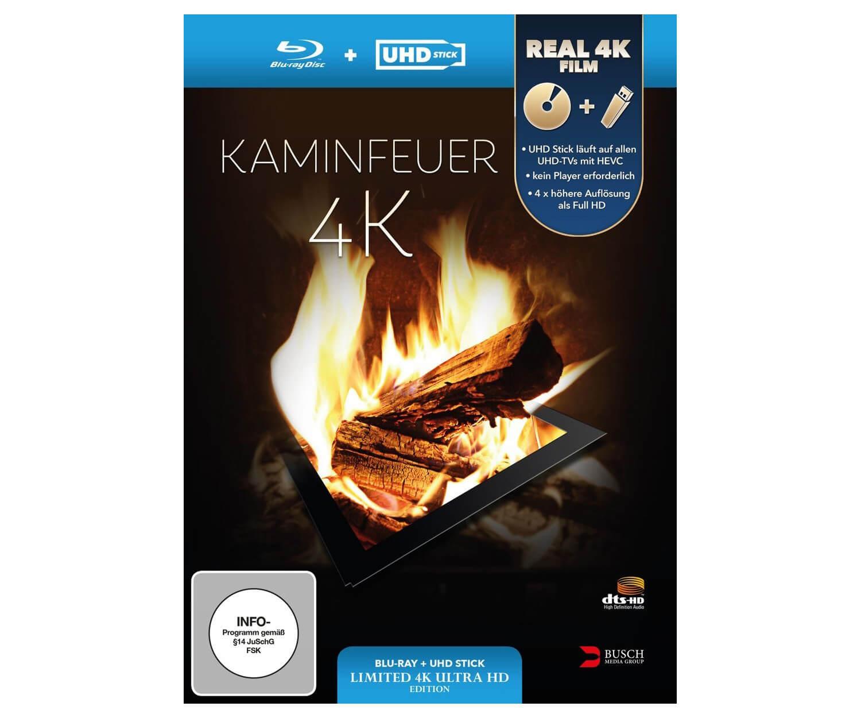 Kaminfeuer Blu Ray 4K neu