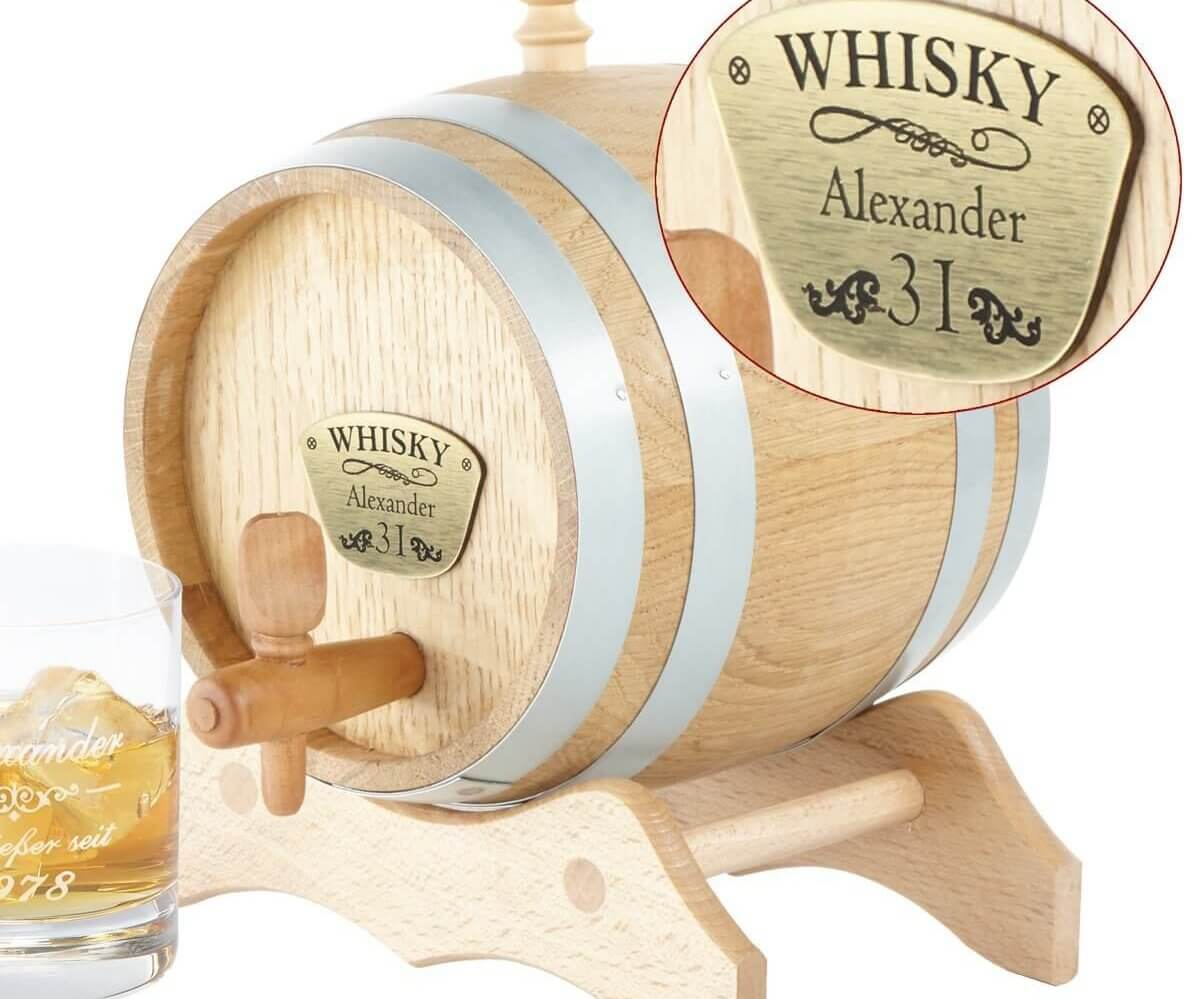 Personalisiertes Whiskyfass - Whisky richtig lagern