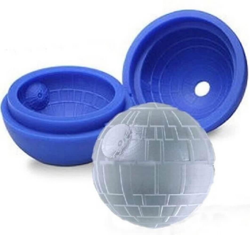 Star-Wars Todesstern Eiswürfel Eiskugel Form aus Silikon Geek-Geschenk für Star Wars Fans 2