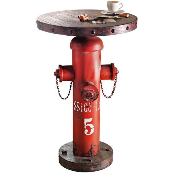 Der Man Cave – die ultimative Männerhöhle einrichten Hydrant Fireplug Beistelltisch