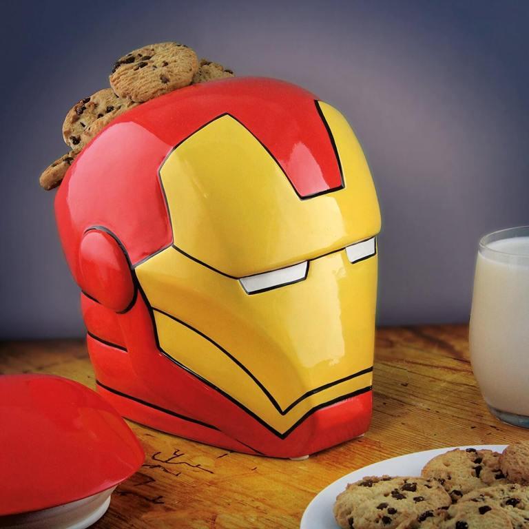 Ironman Keksdose aus Keramik