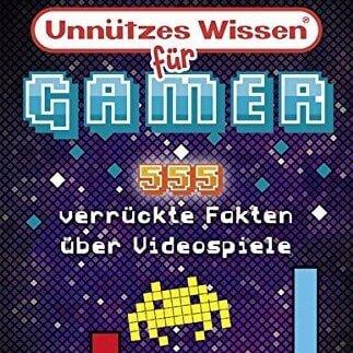 Nerd Geschenke - Die besten Gadgets für Geeks - Buch unnützes wissen für Gamer die Videospiele lieben