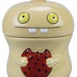 Uglydoll Keramik Keksdose beige