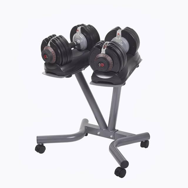 Verstellbare Kurzhantel Set - Intelligentes Hantelsystem - Einstellbare Hanteln kaufen - Geschenk für Sportler - DialTech 3