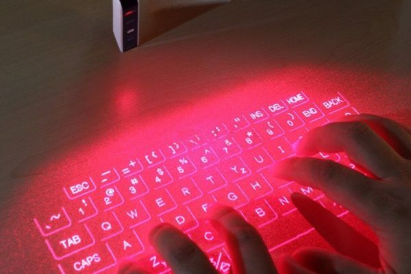 Virtuelle Projektor Tastatur