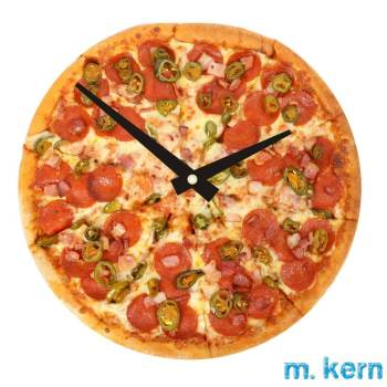 Food Design Salami Pizza Peperoni