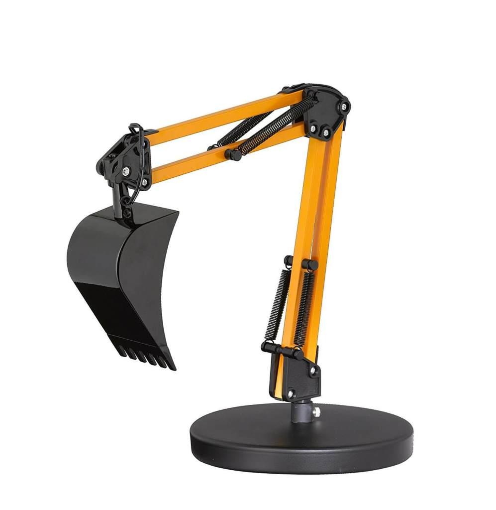 Lampe Tischleuchte in Bagger-Design Bagger-Optik Schaufelbagger-Optik Männlich einrichten 2 - bestes Männerspielzeug