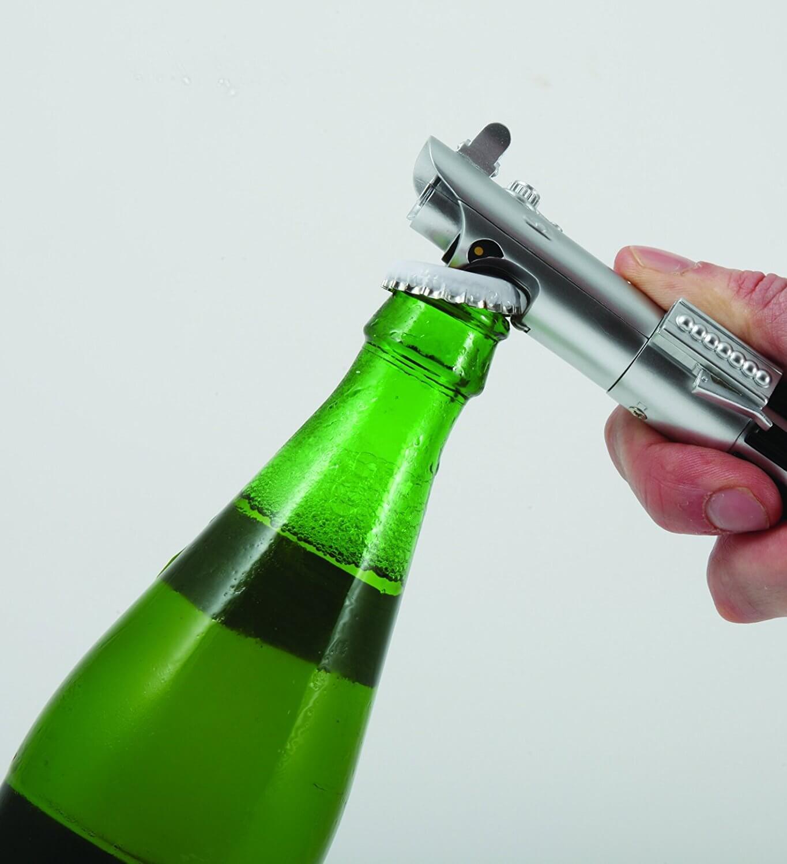 Aussergewöhnliche Flaschenöffner ungewöhnlich Kapselheber ausgefallen Bieröffner - coole, besondere, beste, originelle, aus Holz - Star Wars Lichtschwert