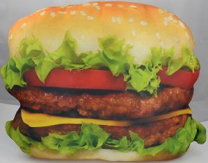 Food Design Cheeseburger Burger Kissen