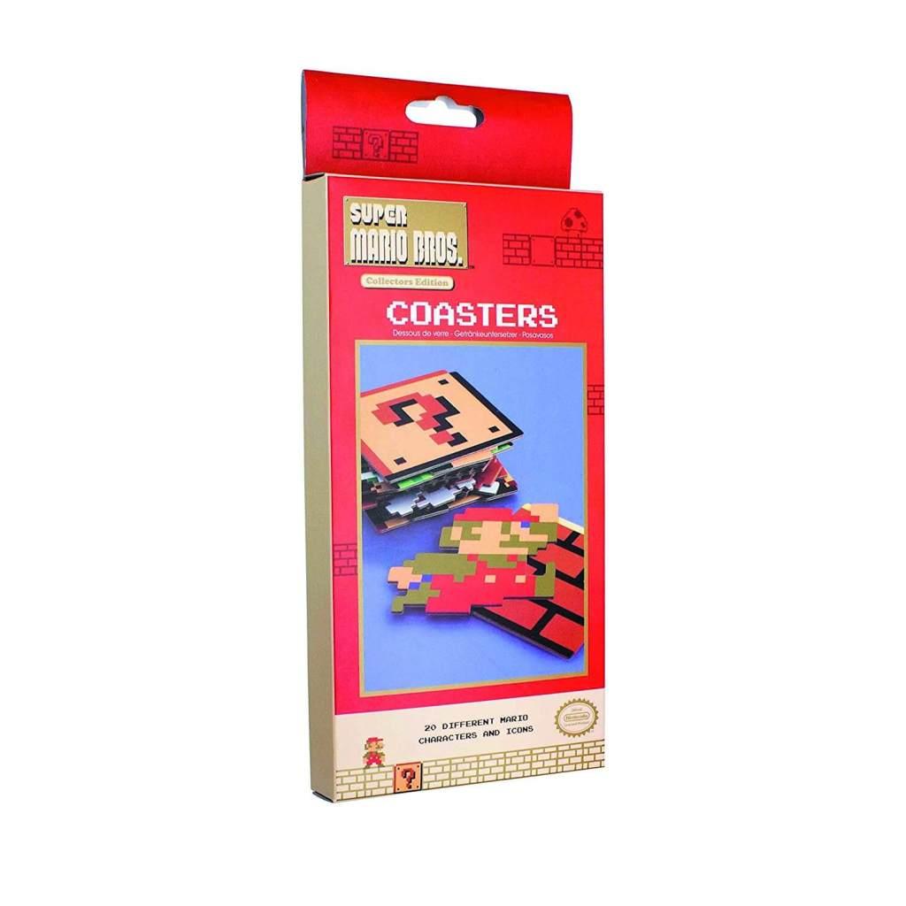 Super Mario Untersetzer retro design