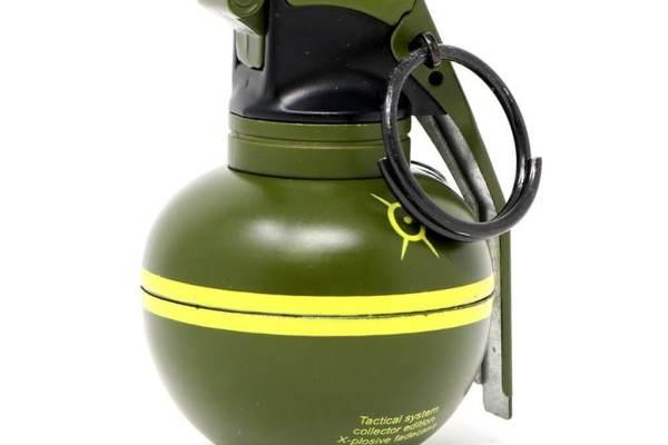 Feuerzeug im Granaten Design - Sturmfeuerzeug Granatnendesign - Geschenke für Männer kaufen High Explosive Nade 1