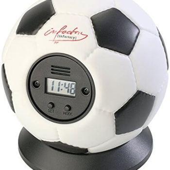 Wecker für Männer - Wurfwecker Fussball