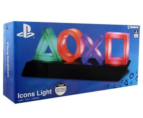 Playstation Icon Lampe LED Playstation Lampe Playsation ICONs USB
