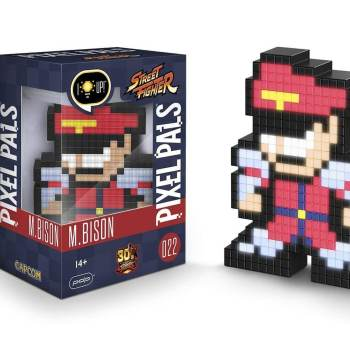 #22 Street Fighter - M. Bison 022 Die gesamte Pixel Pals Collection