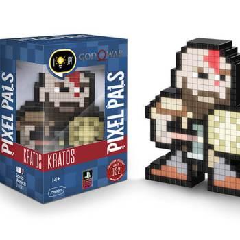 #32 God of War – Kratos mit Schild 032 Die gesamte Pixel Pals Collection