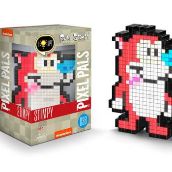 #38 Ren and Stimpy – Stimpy 038 Die gesamte Pixel Pals Collection