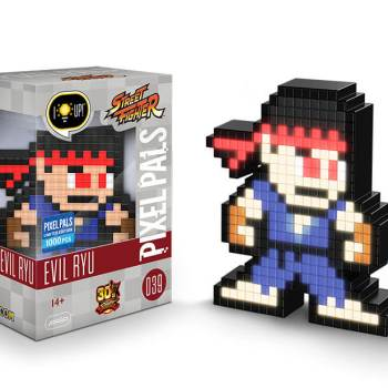 #39 Street Fighter - Evil Ryu 039 Die gesamte Pixel Pals Collection