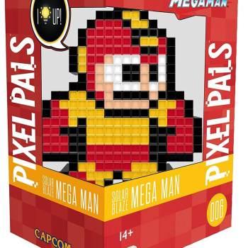 #6 Capcom – Solar Blaze Mega Man 006 Die gesamte Pixel Pals Collection