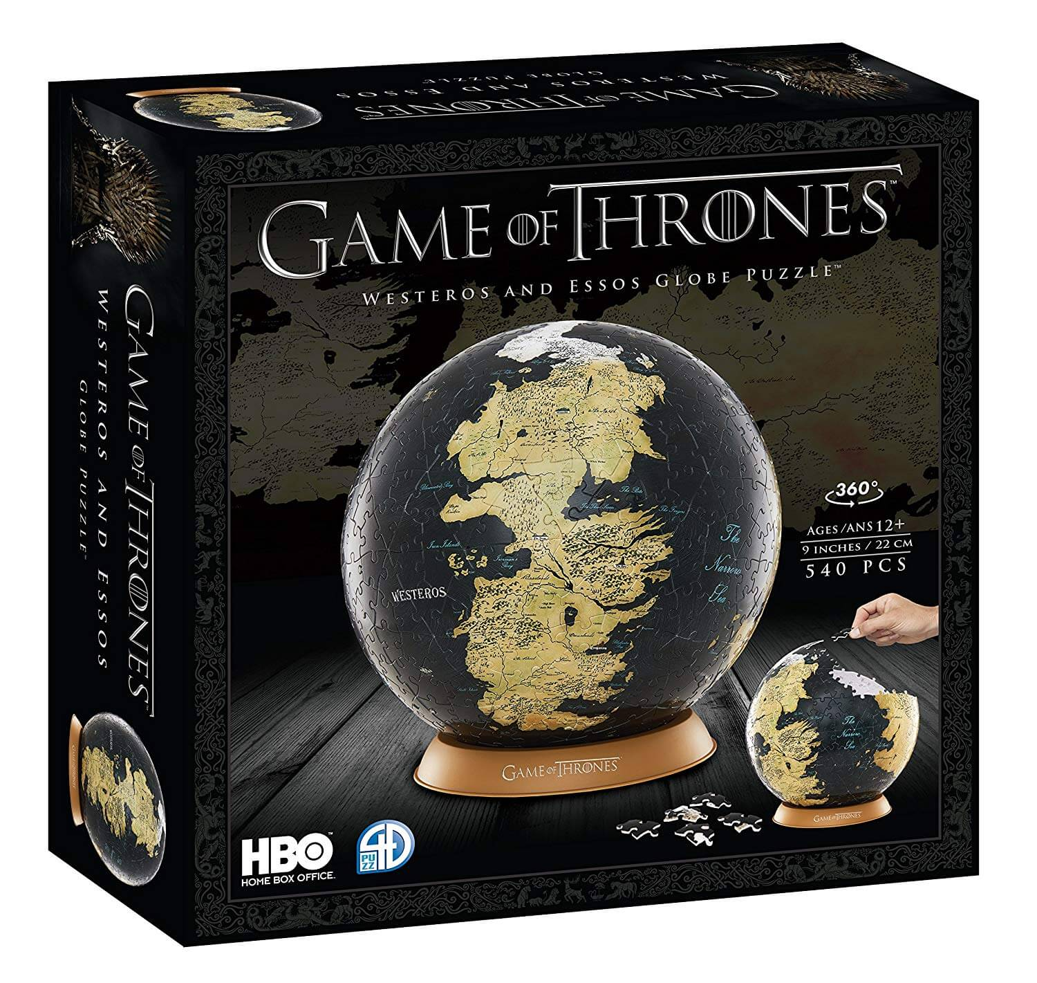 Game Of Thrones 3d Puzzle Auf Was Maenner Wollen De