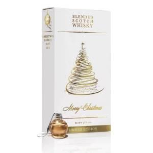 6 Whisky Weihnachtskugeln - Premium Whisky - Weihnachtsgeschenke für Männer – Geschenke zur Vorweihnachtszeit – Stressfreie Weihnachten – Männergeschenke