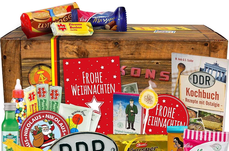 DDR Adventskalender - Ostdeutsche Spezialitäten zu Weihnachten - Ostdeutsche Geschenke - DDR Geschenke - Weihnachtsgeschenke aus der DDR
