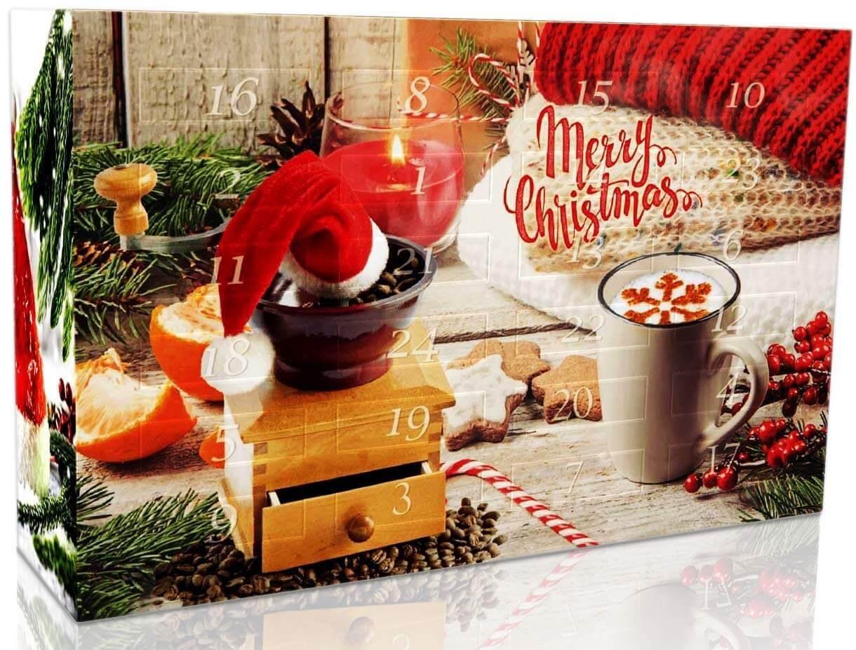 Kaffee Weihnachtskalender Kalender für Kaffetrinker Weihnachtsgeschenk für Kaffeeliebhaber