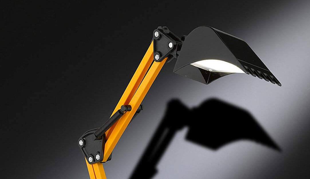 Bagger Lampe - Lampe für Männer - Lampe im Baggerdesign - Baggerlampe - Sparsame Lampe für Männer