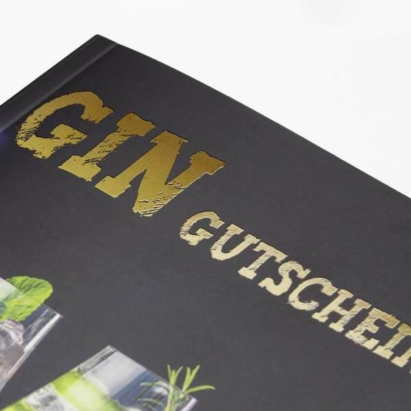 Gin Gutscheinbuch exklusives Geschenk für Gin-Profis 2