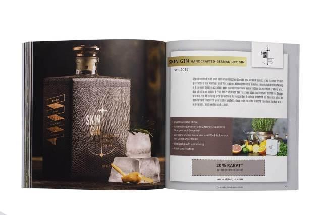 Gin Gutscheinbuch exklusives Geschenk für Gin-Profis 4