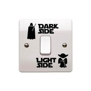 Star Wars Lichtschalter 3 Varianten Männergeschenk für den Star Wars fan 3