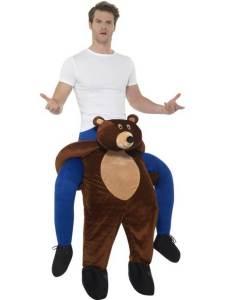 10 Carry Me Bär Teddy Piggyback Ride On auf dem Rücken Faschings Geschenk Kostüm beste Auswahl an Huckepack Kostümen