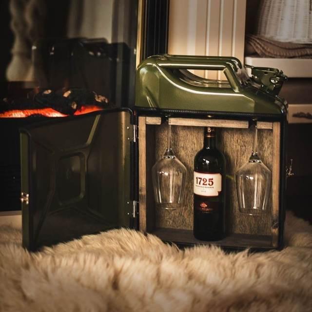 20l Kanister Bar grün Das Weinversteck Aus Retro-Benzinkanistern