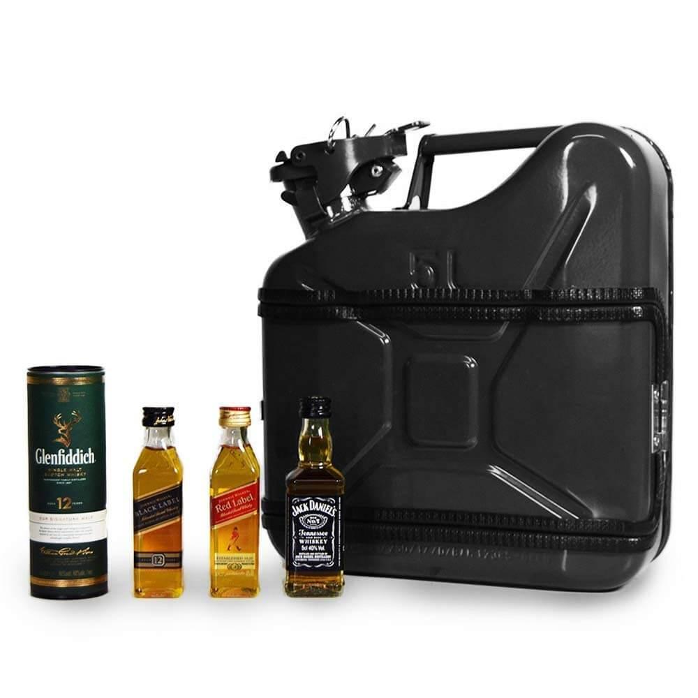5l Kanister Bar Schwarz Das Whiskyversteck Aus Retro-Benzinkanistern 2