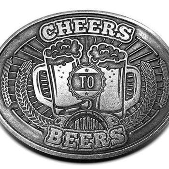 Bierhalter Gürtelschnalle -Bierhalten Gürtelschnell 2 - Bier freihändig trinken