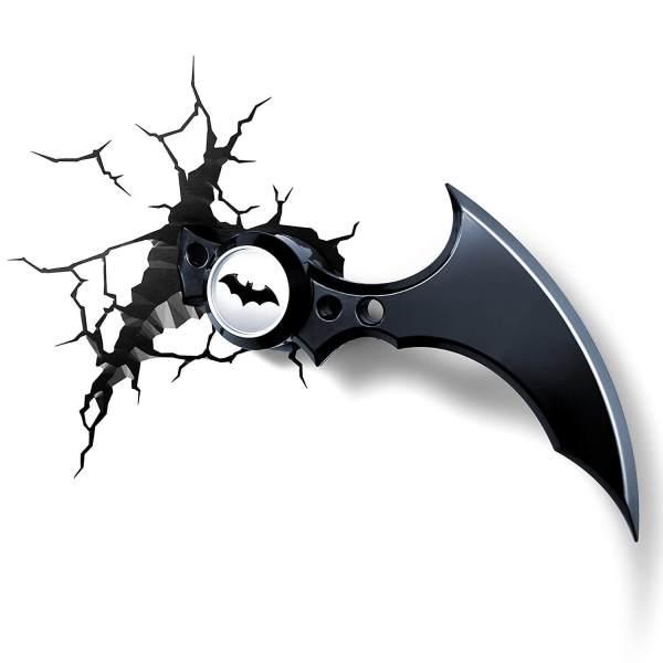 Superhelden 3D Wandleuchten – Optisch ein Highlight - Batman Batarang