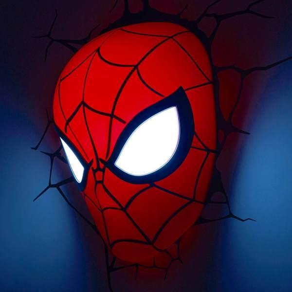 Superhelden 3D Wandleuchten – Optisch ein Highlight - Spiderman 2