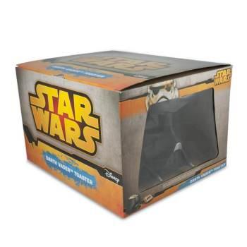 """Star Wars Toaster Star Wars""""-Schriftzug auf beiden Seiten vom Toast 2"""