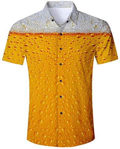 Bier Badehose Perfektes Strand-Outfit Sommergeschenk für den Mann Hemd
