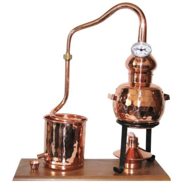 "0,5l Destille ""Alambic Classico"" mit Thermometer, ohne Aromakorb"