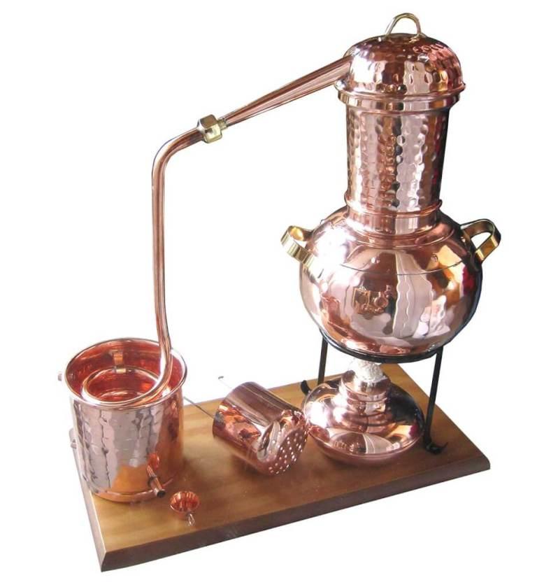 """2l Destille """"Kalif"""" ohne Thermometer, mit Aromakorb"""
